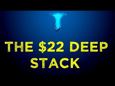 $22 Deep Stack - Final Table! | 888 Poker
