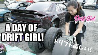 Driftgirl #ドリフトガール #日常 ドリフトガールの日常です! 日光サーキットで友達と楽しくドリフト♫ A day of Tokyo drift girl! I went to Nikko circuit with my friends.