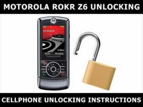 How to Unlock Any Motorola ROKR Z6 Using an Unlock Code