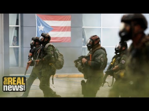 Police Crack Down on Puerto Rico May Day March Against Austerity