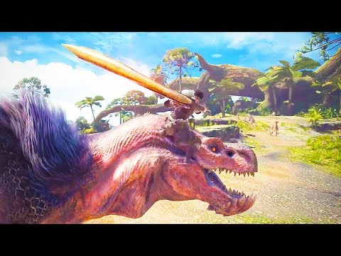 MONSTER HUNTER WORLD 31 Minutes of Gameplay Demo (PS4 Xbox One PC) Developer Walkthrough 2017