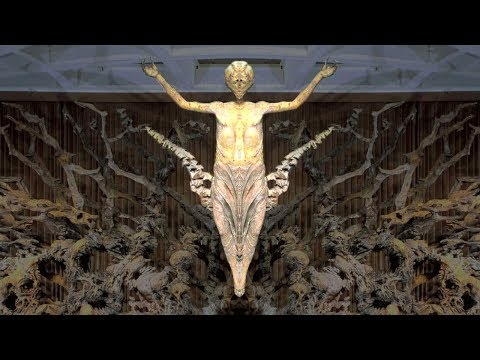 ✞ Pope Paul VI Audience Hall: Fazzini Resurrection Sculpture + Vatican Obelisk + Occult + MORE