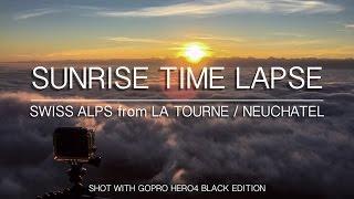 La Tourne 2015 - Timelapse Sunrise - GoPro HERO4 Black Edition