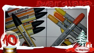 Graffiti Advent Calendar #10 - Letraset Promarker VS Copic Ciao Marker