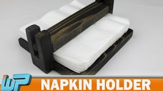 How To Make A Napkin Holder