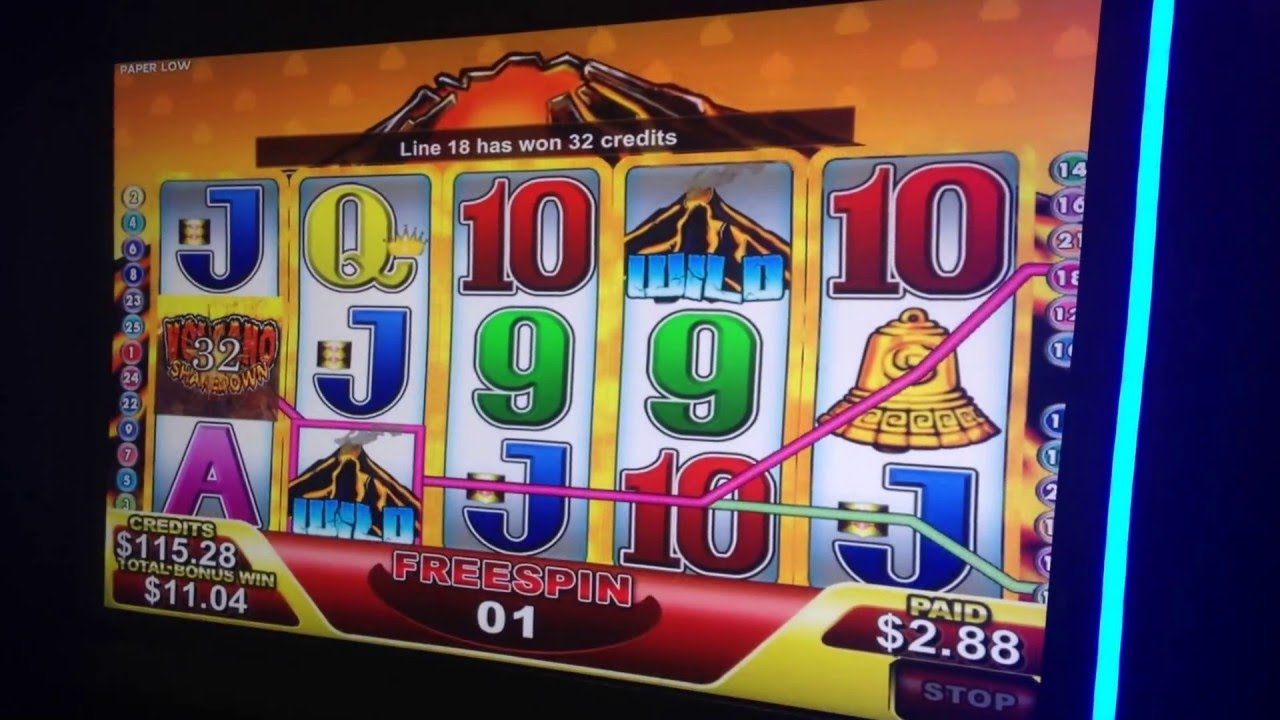 5 top slot machines at the Volcano Casino in 2017 56