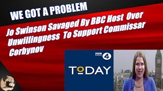Jo Swinson Savaged By BBC Host  Over Unwillingness  To Support Commissar Corbynov
