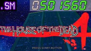 House of the Dead 4 1 Credit Clear 501,560 Points
