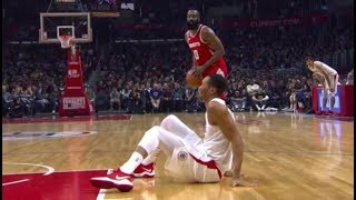 James Harden - Best Crossovers of 2017/2018 - Crazy Ankle Breakers!