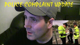 Police complaint update  - oyster card tracking - police harassment uk