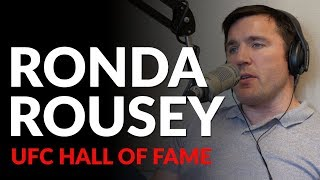 Chael and Ariel Helwani disagree on Ronda Rousey in the UFC Hall of Fame