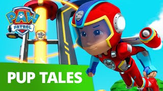PAW Patrol Mighty Pups Charged Up Save Cap'n Turbot From a Volcano | PAW Patrol Official & Friends!