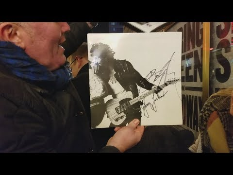 Bruce Springsteen Signs Autographs Before A  12817