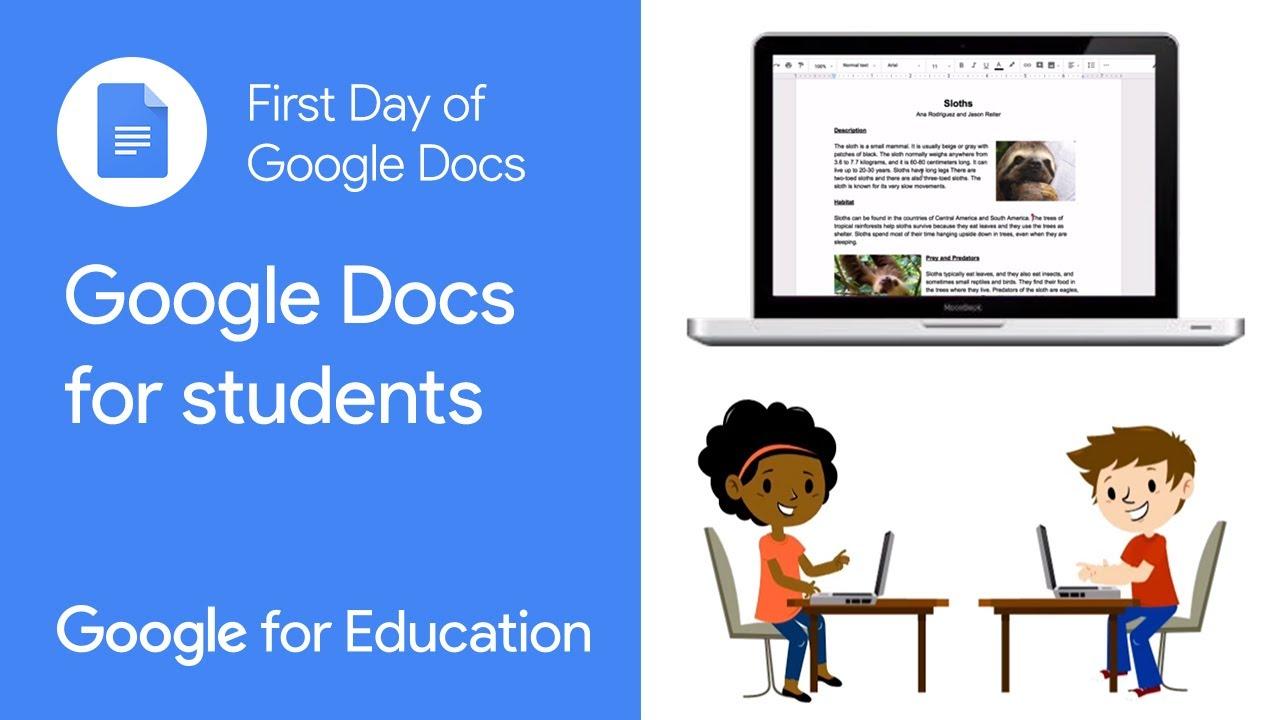 Google Docs Training Teacher Center Google For Education