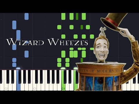 Synthesia - Wizard Wheezes (Harry Potter 6) [PIANO TUTORIAL + SHEET MUSIC] mp3