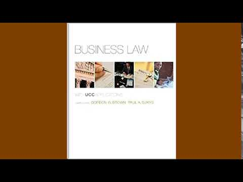 Practice Test Bank for Business Law with UCC Applications by Brown 12th Edition