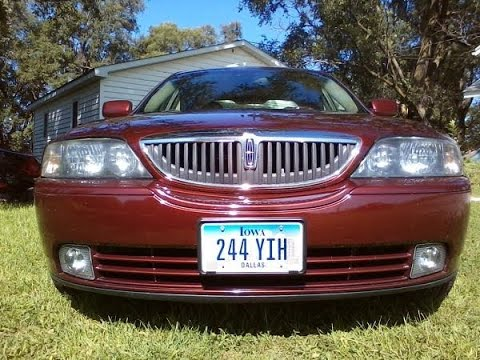 2003 Lincoln LS V8 ~ Degas Bottle Removal