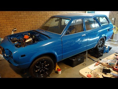 1971 Mazda 808 RX3 Rotary Savanna Wagon Build Project