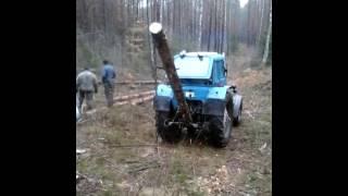 как можно грузить лес
