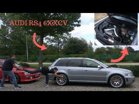 """sobre rodas pt: AUDI RS4 6xx ! ???? """"carro de sonho"""""""