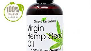 AMAZON BEST SELLING HEMP SEED OIL RELIEF FOR DRY CRACKED SKIN