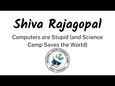 2021 NYSCamp's Martha Wehrle Opening Lecture: Computers Are Stupid w/ Shiva Rajagopal