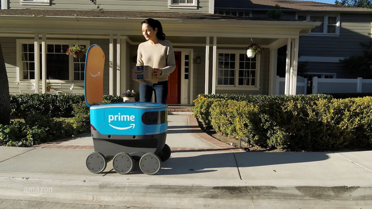 Introducing Amazon Scout – Amazon's Autonomous Delivery Robot Rover