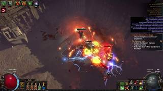 Cremation Build - Chimera Boss Fight