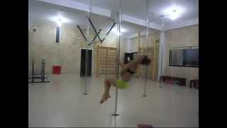 intermediate pole tricks and spins