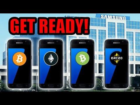 Samsung Galaxy S10 Will Bring Crypto To It's 1.2 BILLION Users! Tron | Polymath
