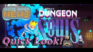 Dungeon Souls  - Rogue Like / Gauntlet Like / Great Aesthetic - Quick Look