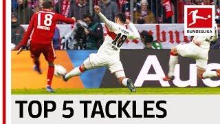 Ozan Kabak - Top 5 Tackles