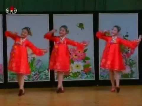 [Song+Dance] 'We are the Flowers and Butterflies' {DPRK Music}