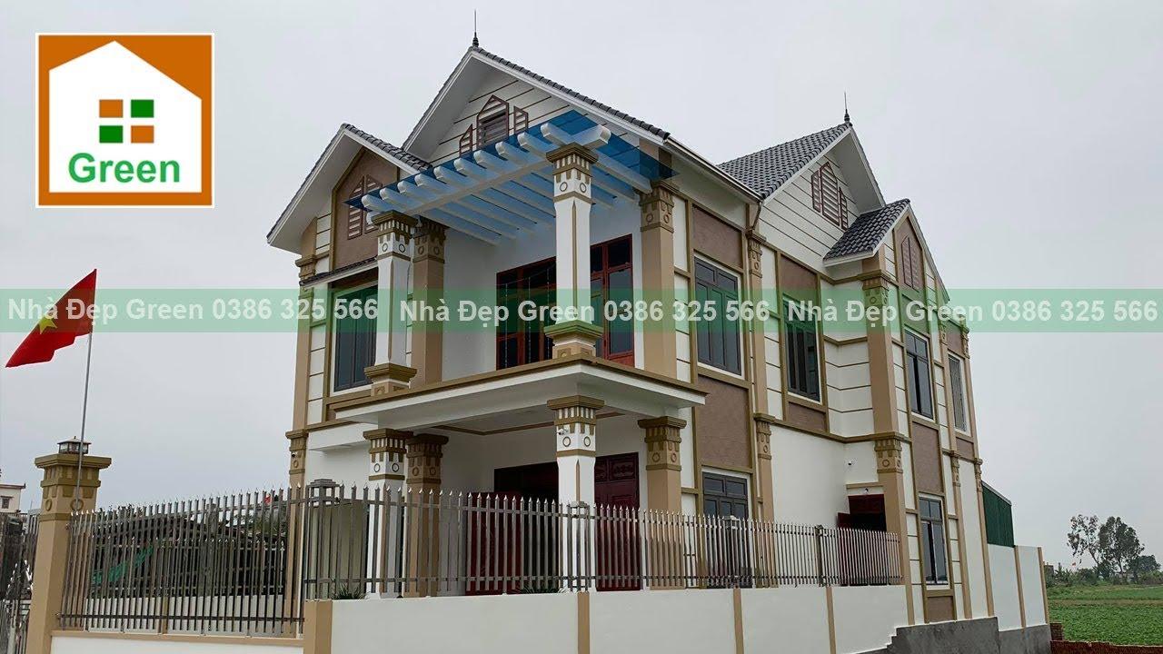Nhà Đẹp | Mẫu Biệt Thự 2 Tầng Đẹp 4  Phòng Ngủ Tại Thái Bình Do Kts. Nhà Đẹp Green Thiết Kế