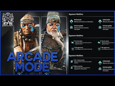 ARCADE MODE FUN! W/Jawzd - For Honor: Marching Fire |