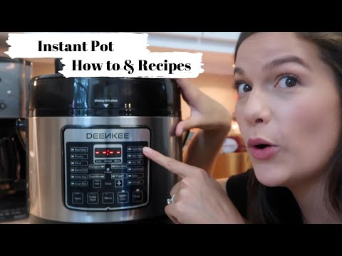 PRESSURE COOKING FOR BEGINNERS: HOW TO USE YOUR INSTANT POT: DEENKEE PRESSURE COOOKER
