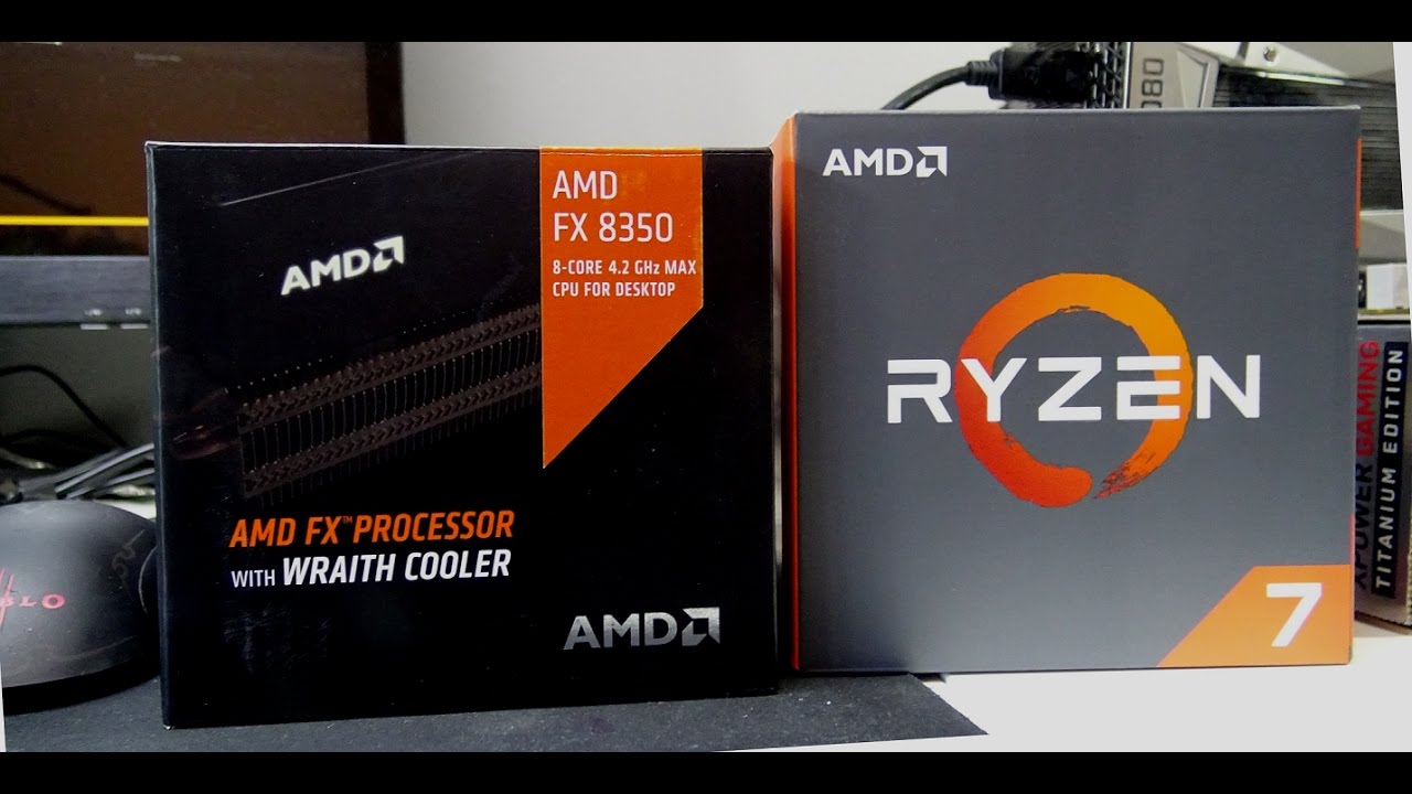 AMD Ryzen 7 1800x and the FX 8350  How Far Did AMD Come?