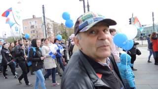 1 Мая Омск Демонстрация 1
