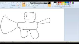 ROBLOX How to Draw your ROBLOX Character!