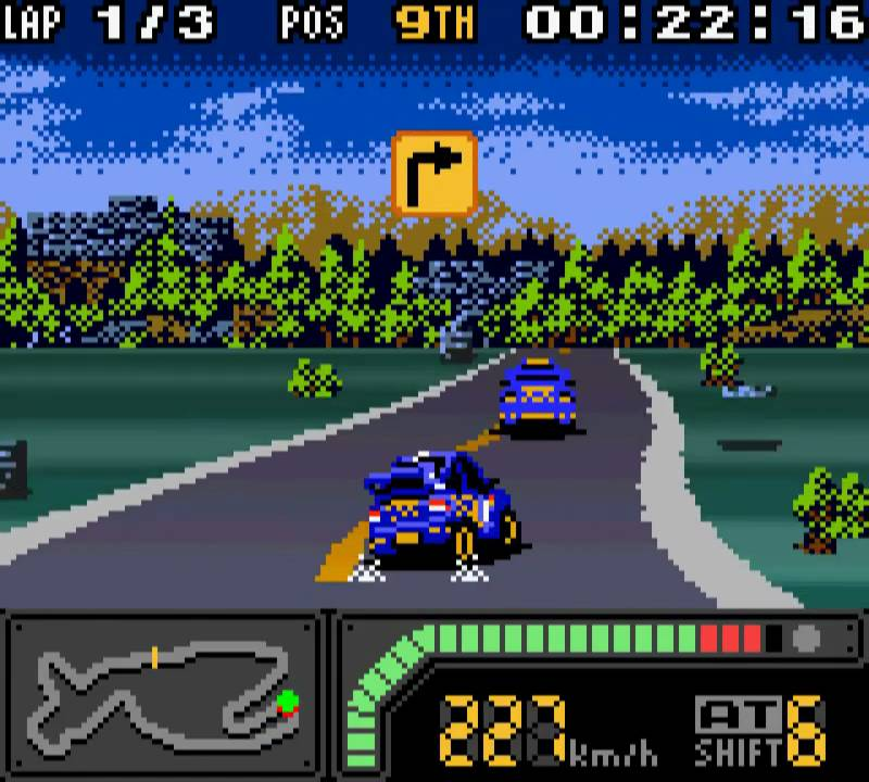 Racing Games Featured On Nesconsole Com Download Nes Roms: Top Gear Rally Pocket 2 (TG Rally)