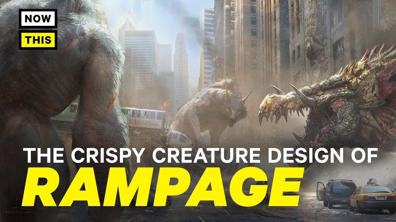 The CRISPY Creature Design of Rampage | NowThis Nerd