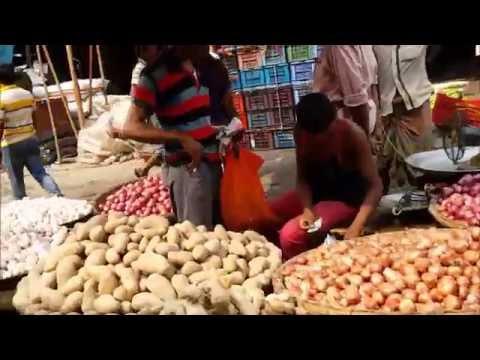 Whole Sale Vegetable Market Karwan Bazar Dhaka Bangladesh