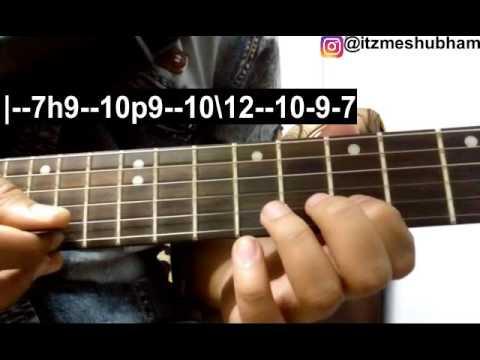 Mere Nishaan (Single String) Guitar Tabs Tutorial | Darshan Raval | Shubham Joshi