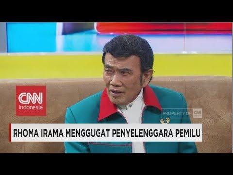 Ketika 'Raja Dangdut' Rhoma Irama Menggugat Penyelenggara Pemilu