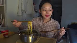 코로나블루 극복✨ 혼술 먹방브이로그  (바이레도 언박싱…
