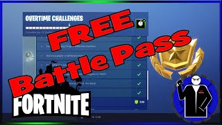 Fortnite Battle Royale FREE Season Pass!