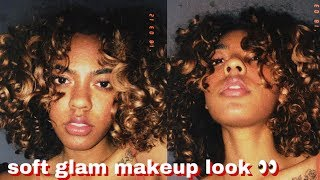 Minimal Soft Glam Makeup Look // Chelsea DIY