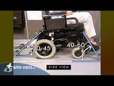 Wheelchair Accessible Vans >> Q'Straint QRT Max Wheelchair Tie-Downs | AMS Vans Mobility Equipment - YouTube