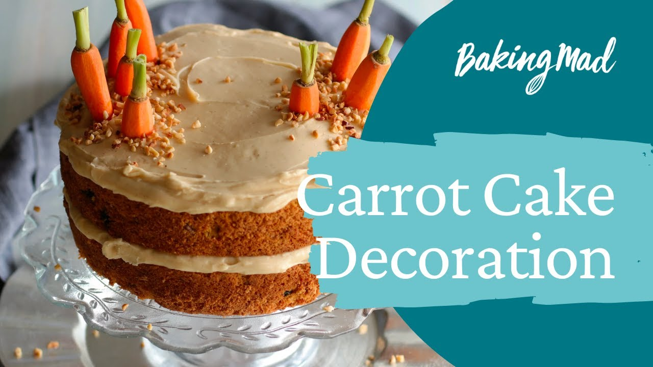How to decorate the best ever Nielsen-Massey carrot cake ...