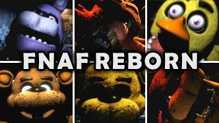 Five Nights at Freddys Reborn - All Jumpscares!